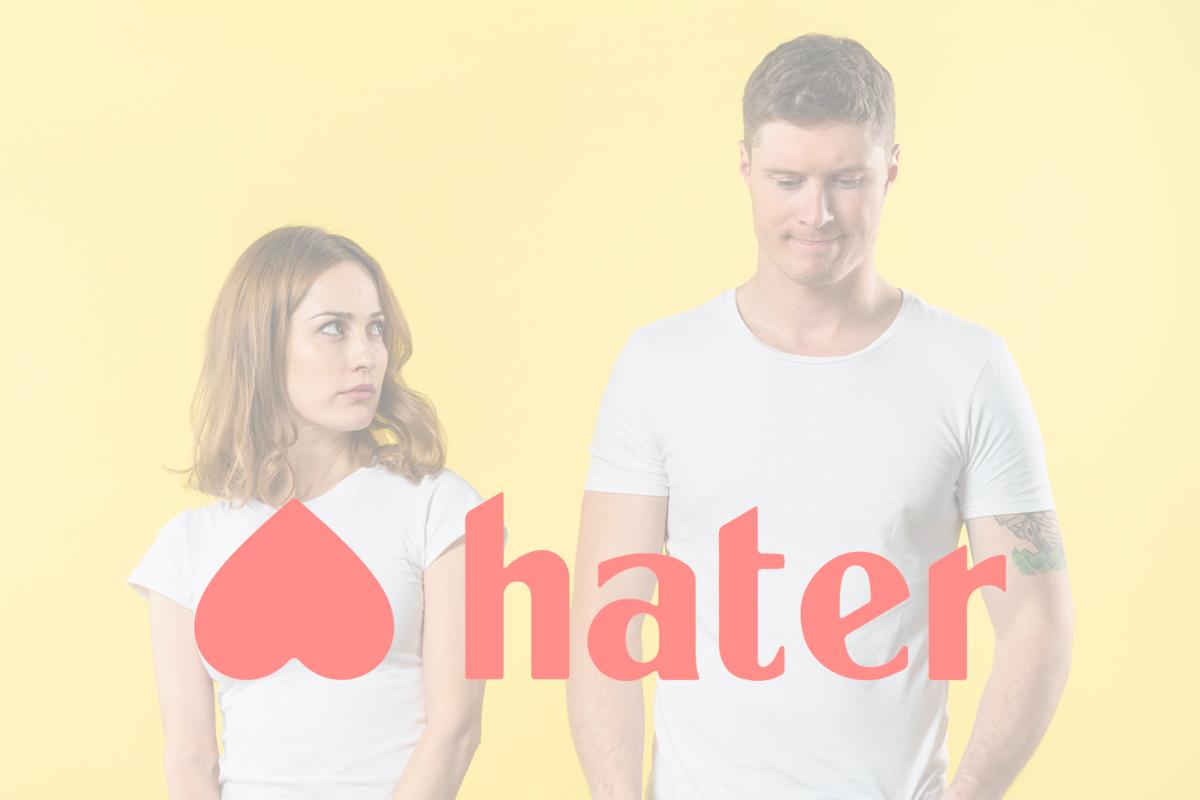 HATER: LA APP QUE TE EMPAREJA CON PERSONAS SEGÚN LO QUE ODIAS