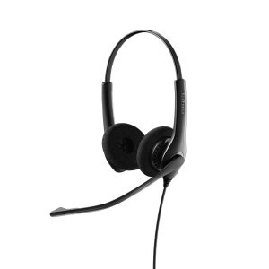 Auricular Jabra Biz 1500 Dúo, Sonido HD, USB, Micrófono