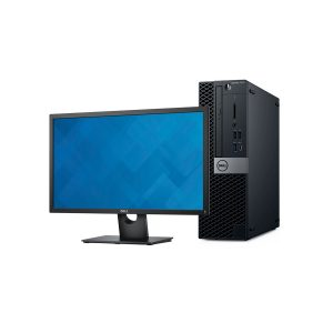 "Computadora Dell Optiplex 7070 SFF, Core i7-9700, 3.0GHz, 8GB RAM 1TB, Monitor Dell 24"" + Dongle USB Wi-Fi"