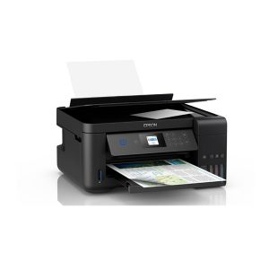 Impresora Multifuncional de Tinta Epson Ecotank L4160, Imprime, Escanea, Copia, Wi-Fi