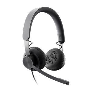 Audífono con micrófono Logitech Zone Wired