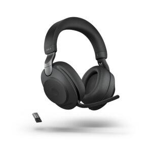 Audífono Inalámbrico Jabra Evolve2 85, Bluetooth, USB-A, Micrófono, Estéreo