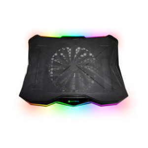 COOLER P/NOTEBOOK ANTRYX XTREME AIR N500, UP TO 17″, RGB LED, BLACK