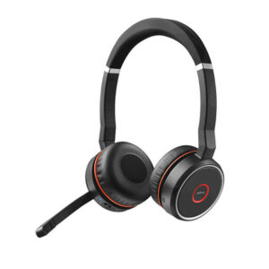 Audífono Inalámbrico Jabra Evolve 75 Ms Stereo, Bluetooth, USB, Micrófono, Estéreo y Cancelación de ruido (7599-832-109)