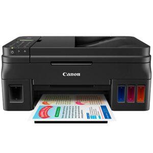 Impresora Multifuncional De Tinta Canon PIXMA G4100, Wi-Fi, Imprime, Escanea, Copia