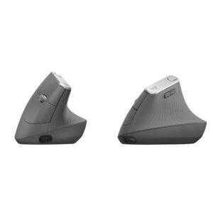 Mouse Logitech MX Vertical, Bluetooth, Ergonómico, Negro (910-005447)