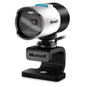 Cámara De Videoconferencia Microsoft LifeCam Studio, FHD, 1080p, CMOS Sensor (Q2F-00013)