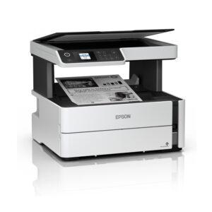 Multifuncional de tinta Epson EcoTank ET-M2170, imprime/escanea/copia, USB/LAN/WiFi.
