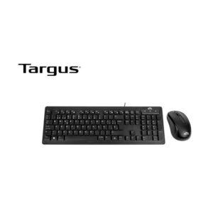 Teclado + Mouse MTG BY Targus USB SP Black (AKM617ESLA)