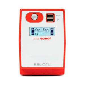 SPS SOHO+ SAI Line-interactive 500 VA – 2200 VA con doble cargador USB