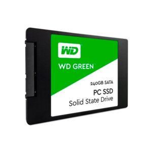Disco Duro SSD Western Digital Green, 240GB, Sata 6Gb/s, 2.5″, 7mm (WDS240G2G0A)
