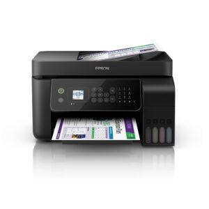 Multifuncional de tinta continua Epson L5190, imprime/escanea/copia/fax, USB/Lan/Wi-Fi.
