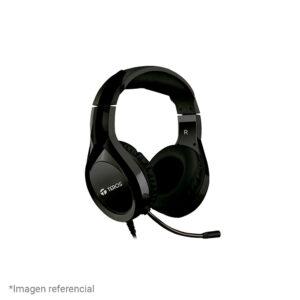 Auriculares Teros TE-8070N-1, micrófono, conector USB, negro